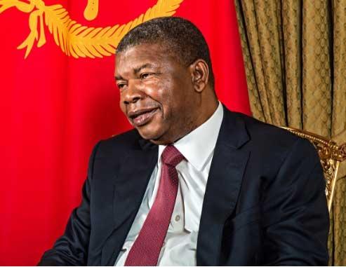 H.E. Joao Lourenco President of the Republic of Angola